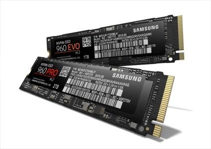 Samsung анонсировала сверхскоростные SSD 960 Pro и 960 EVO