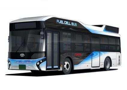 Водородные автобусы Toyota FC Bus, являющиеся по совместительству мощными аварийными генераторами, выедут на маршрут в Токио уже в 2017 году