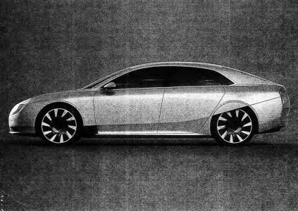 Опубликовано первое фото китайского электромобиля Atieva Atvus, который призван конкурировать с Tesla Model S