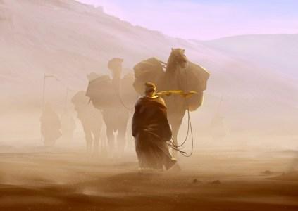 Caravan: миражи в пустыне