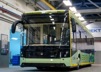 Украинский производитель электротранспорта «Электрон» создал видеопрезентацию электробуса Electron E19
