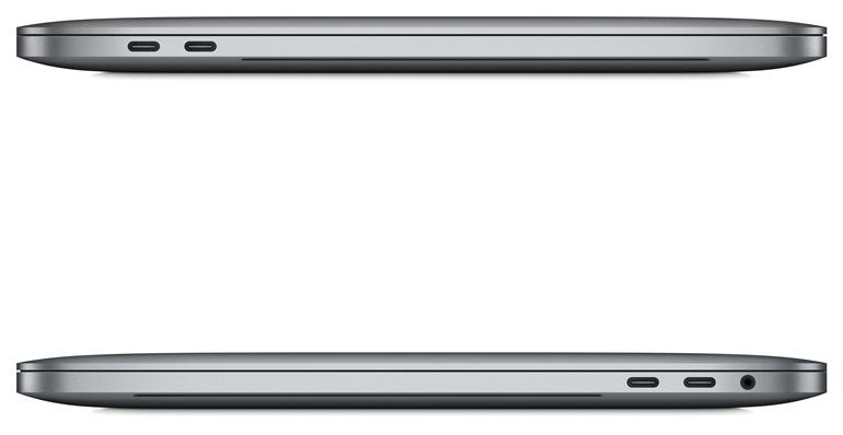 Новые ноутбуки Apple MacBook Pro с сенсорной панелью Touch Bar над клавиатурой