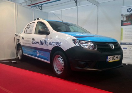 Из Dacia Logan сделали электромобиль с запасом хода до 500 км и поддержкой быстрой 20-минутной зарядки «fastcharger»