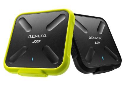 ADATA SD700 — первый в мире внешний ударопрочный 3D NAND SSD с защитой от воды и пыли IP68