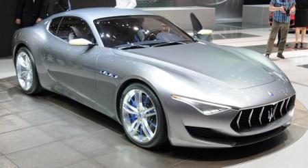 Полностью электрическая версия двухместного спорткупе Maserati Alfieri выйдет в 2020 году