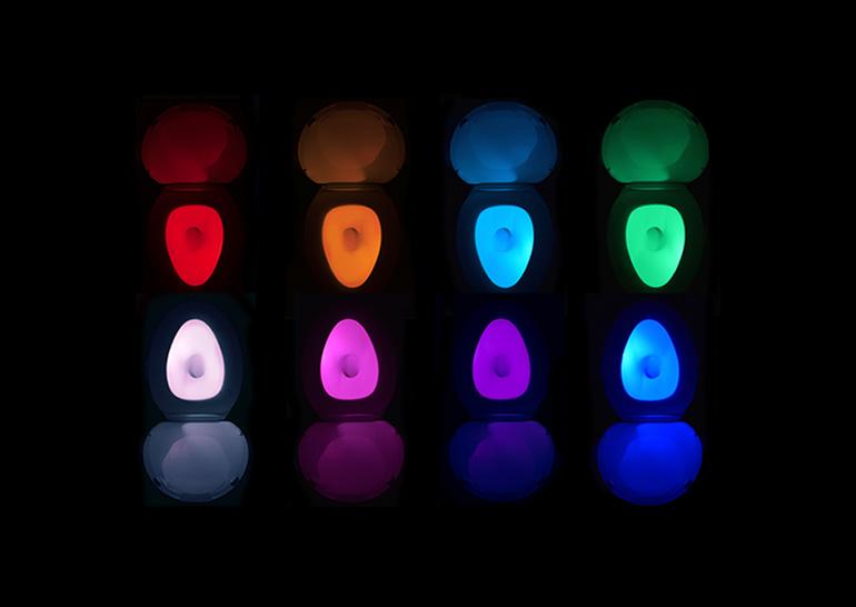 Проект умной ночной туалетной лампы IllumiBowl 2.0 собрал на Kickstarter почти в 20 раз больше запрашиваемой суммы
