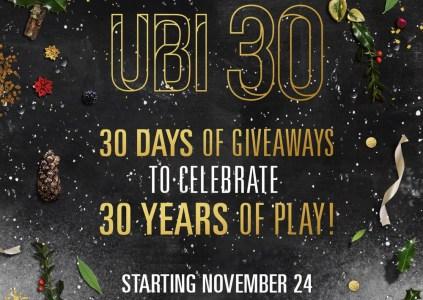 Сегодня стартовала акция «30 дней подарков» от Ubisoft, в рамках которой компания будет месяц бесплатно раздавать свои игры