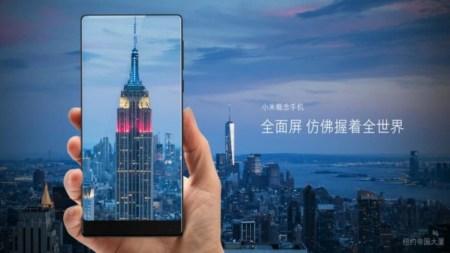 Xiaomi разработала 5,5-дюймовую «Nano»-версию безрамочного смартфона Mi Mix