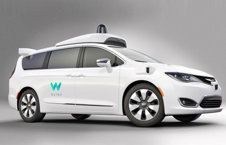 Waymo показала модифицированный самоуправляемый минивэн Chrysler Pacifica