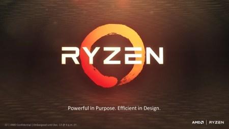 Процессор AMD Ryzen (Zen) обходит Intel Core i7-6900K в тестах HandBrake и Blender при меньшем уровне энергопотребления [презентация New Horizon]