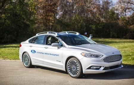 Новое поколение самоуправляемого автомобиля Ford Fusion Hybrid получило новую компоновку сенсоров и два компактных лидара вместо четырех у предшественника