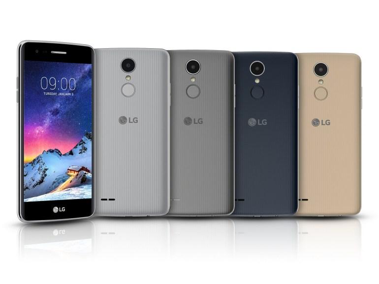 LG анонсировала сразу пять новых смартфонов: Stylus 3 (Stylo 3), K10, K8, K4 и K3