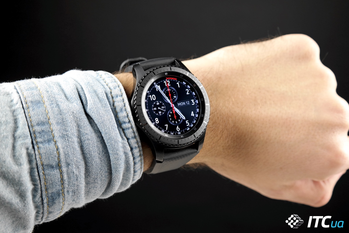 Обзор умных часов Samsung Gear S3 Frontier - ITC.ua