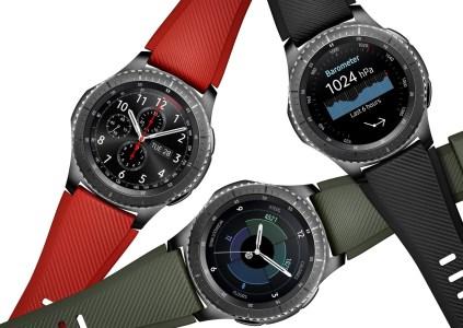 В Украине стартовали официальные продажи умных часов Samsung Gear S3 по цене 9999 грн