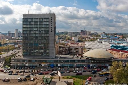 В футуристичной «Тарелке» на Лыбидской (УкрИНТЭИ) планируют создать музей науки по опыту аналогичных центров в Лондоне, Амстердаме и Варшаве