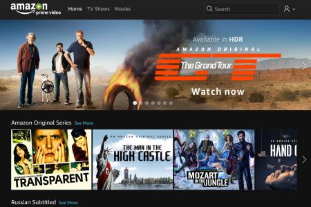 Amazon Prime Video стал доступен в Украине по цене €2,99 в месяц за первые 6 месяцев