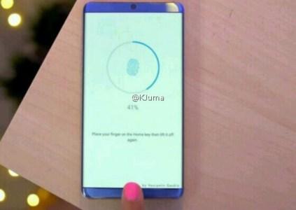 Изображение смартфона Huawei Honor Magic демонстрирует изогнутый с двух сторон дисплей с минимальными рамками сверху и снизу