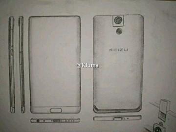 Эскизы Meizu Legent демонстрируют безрамочный смартфон с поворотной камерой