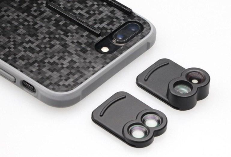 Kamerar ZOOM — первые сменные сдвоенные объективы для смартфонов iPhone 7 Plus