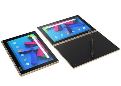 В Украине стартуют продажи гибридного устройства 2-в-1 Lenovo Yoga Book с ОС Android 6.0 или Windows 10