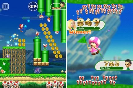 Количество загруженных копий игры Super Mario Run превысило рубеж в 40 млн всего за 4 дня