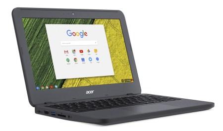 Защищенный ученический хромбук Chromebook 11 N7 (C731) соответствует требованиям военного стандарта MIL-STD-810G