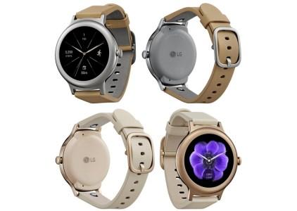 Опубликовано новое изображение умных часов LG Watch Style в цветах Silver и Rose Gold, стала известна цена