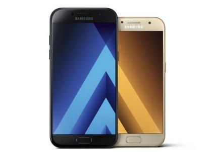Представлены пылевлагозащищенные смартфоны Samsung Galaxy A7, A5 и A3 образца 2017 года