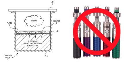 Apple запатентовала электронный парогенератор, но к электронным сигаретам разработка не имеет никакого отношения