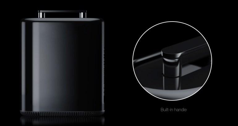 Немецкий дизайнер показал свой вариант Apple Mac Pro 2