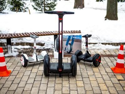 Зимний тест-драйв гироскутеров Ninebot by Segway miniPRO, E+ и моноколеса One S2