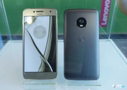 Первый взгляд на Moto G5 и G5 Plus