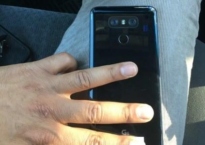 Инсайдерам удалось сфотографировать реальный смартфон LG G6 в глянцевом оформлении Jet Black