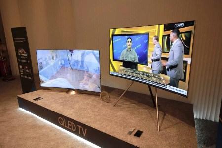 Новые телевизоры Samsung QLED с экранами на квантовых точках стоят от $2500