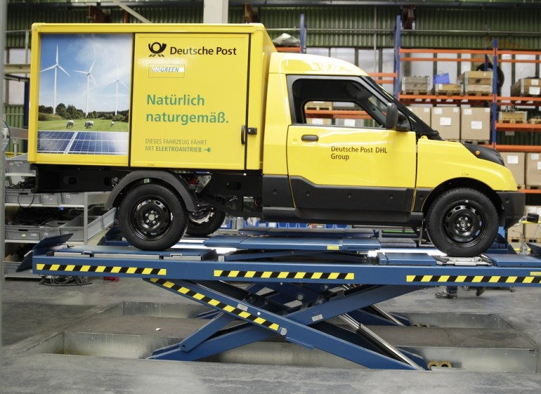 «Укрпочта» планирует закупить 200 электромобилей для службы курьерской доставки в 2017 году и через пять лет довести количество электромобилей в своем автопарке до 1000 штук
