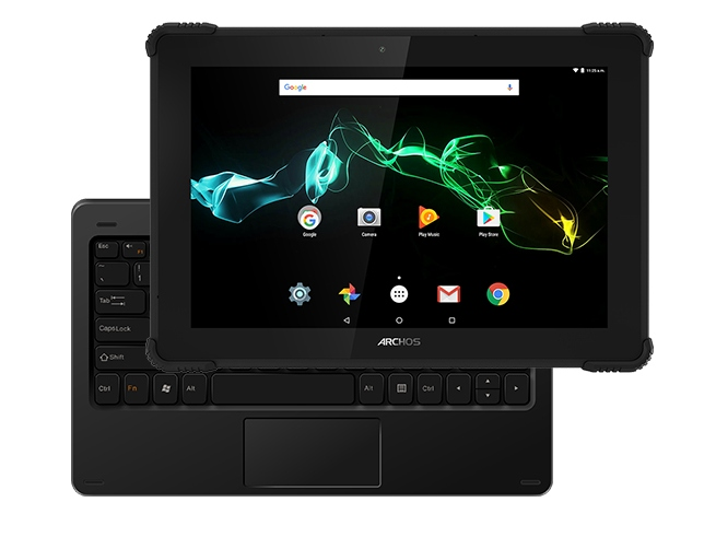 Анонсирован Archos 101 Saphir - защищенный 10,1-дюймовый Android-планшет со съемной клавиатурой