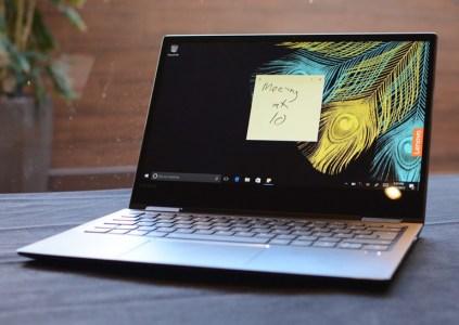 Lenovo подготовила гибридные ноутбуки Yoga 720 и Yoga 520 с дискретными видеокартами