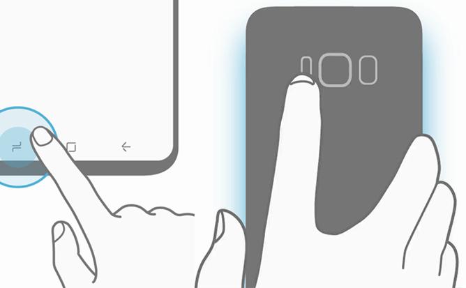 Смартфон Samsung Galaxy S8 предстал на новых фото: без кнопки Home и со множеством сенсоров