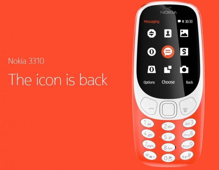 Возрождение легенды (или нет?): Представлен телефон Nokia 3310 с цветным экраном, поддержкой двух SIM-карт и «Змейкой»