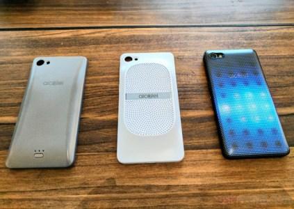 Alcatel анонсировала три Android-смартфона и гибридный ноутбук с Windows