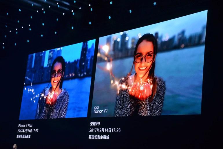 В Китае анонсировали флагманский смартфон Huawei Honor V9 с 5,7-дюймовым дисплеем, 6 ГБ ОЗУ и сдвоенной 12 Мп камерой для 3D-моделирования