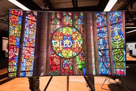 Европейская презентация Samsung: QLED телевизоры серии Q9, Q8 и Q7, универсальный пульт, «невидимый» кабель и The Frame