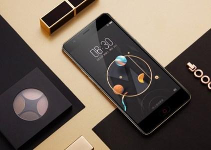 ZTE представила три новых смартфона серии Nubia