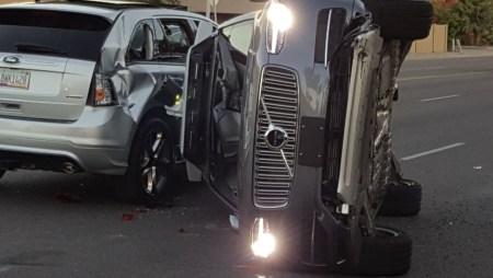 Uber приостановила испытания самоуправляемых автомобилей после аварии в Аризоне (Обновлено: испытания возобновлены)