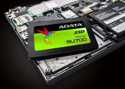 ADATA Ultimate SU700 — новый 2,5-дюймовый 3D NAND SSD-накопитель с интерфейсом SATA 6Gb/s и встроенной защитой данных