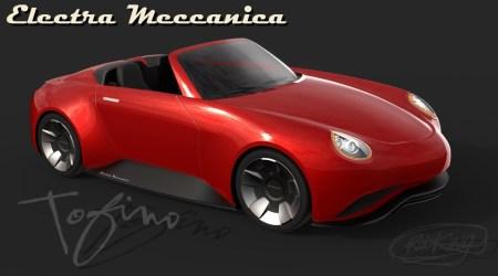 Канадская компания Electra Meccanica представила концепт электрического родстера Tofino с «максималкой» 200 км/ч, запасом хода 400 км и ценой $37 тыс.