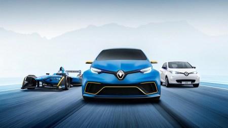 Французы превратили обычный электромобиль в полноприводный «горячий хэтчбек» Renault Zoe e-sport