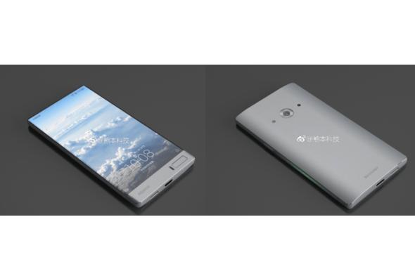 В сети появились рендеры нового безрамочного смартфона Sharp Aquos