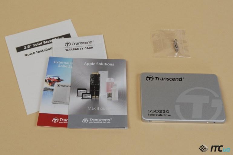 Обзор накопителя Transcend SSD230S 256 ГБ