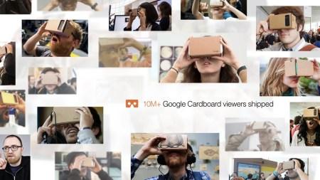 Google отгрузила более 10 млн картонных гарнитур виртуальной реальности Cardboard